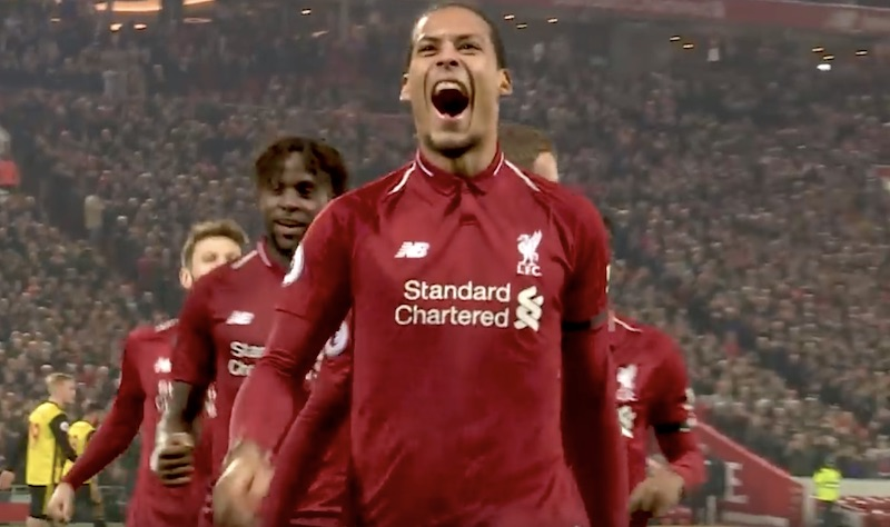 Mestarien liiga Liverpoolin