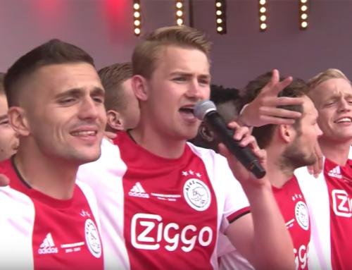Ajax nappasi tuplamestaruuden Hollannissa – fanit lauloivat joukkueen ykköspyssylle!
