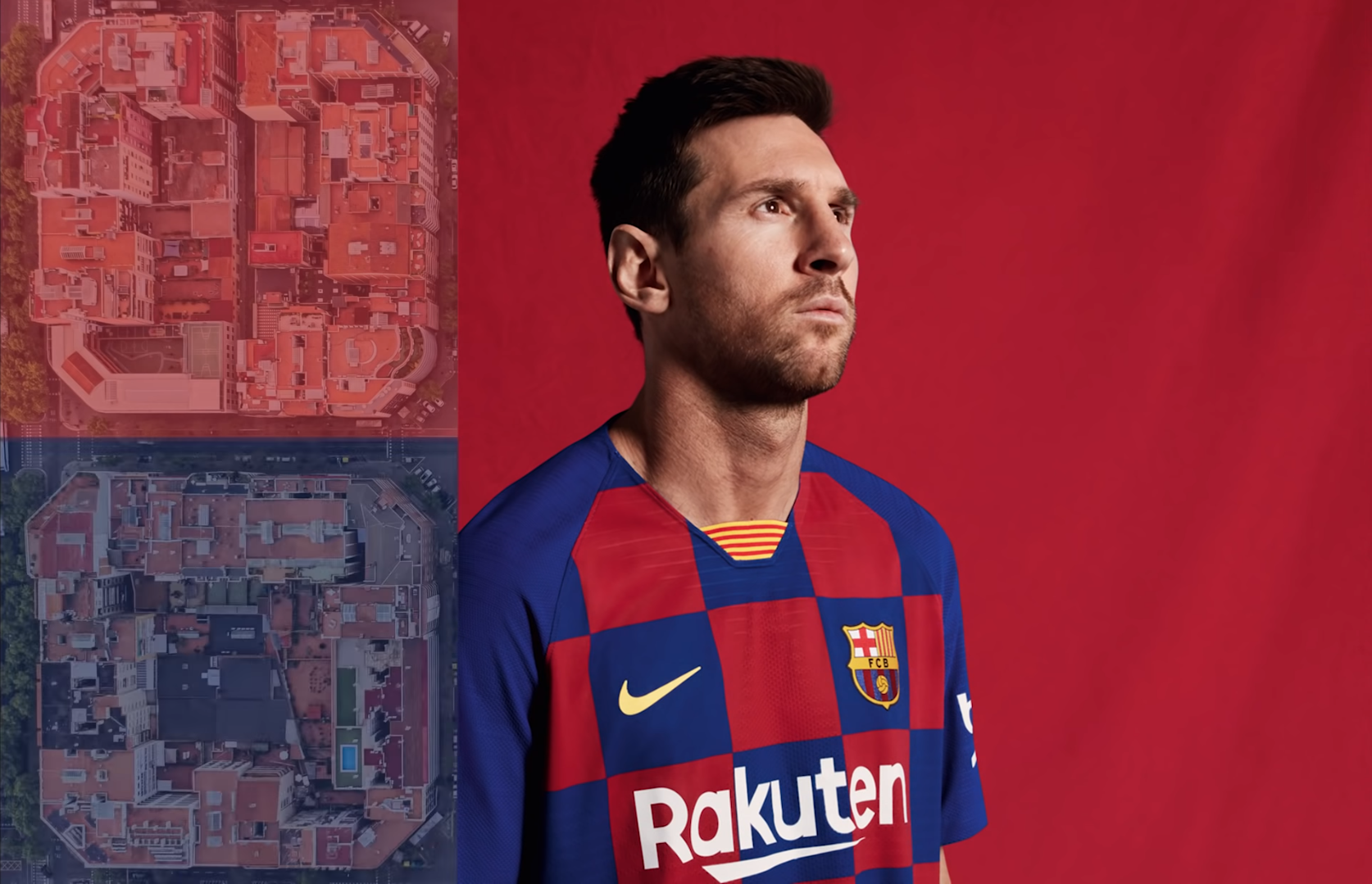 Barcelonan uudet pelipaidat