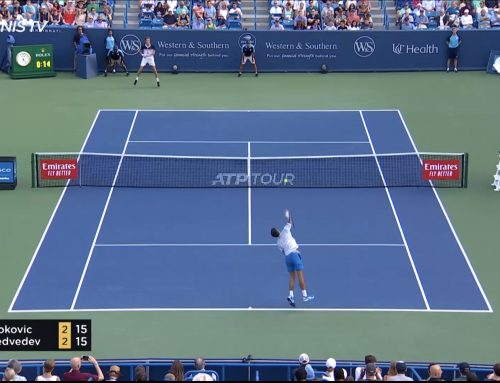 ATP Cincinnati: Novak Djokovic lyötiin tylysti laulukuoroon!