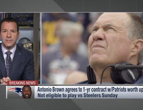 NFL: Antonio Brown sai lähteä Raidersista – Patriots noukki heti supertähden talteen!